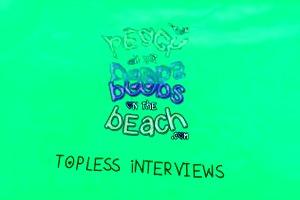 topless beach interview with karmen from czech