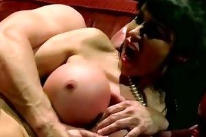 lusty mother i eva karera jizzed on big titties