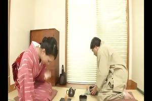 pleasant geisha yayoi yanagida serves up greater