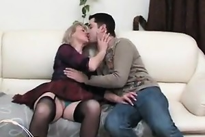 smokin aged woman having sex