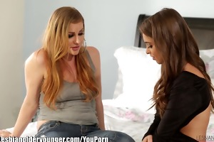 lesbianolderyounger riley reid and sovereign syre