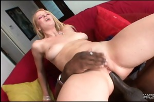 large darksome cock in astounding blondes