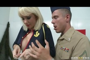 large tit euro french blonde receives her