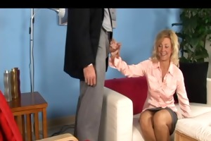 lewd wife drilled by her doctor