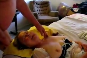 aged sweetheart toying bawdy cleft during the