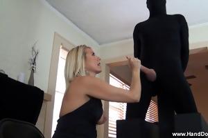 femdom handjob by slavemaster d like to fuck