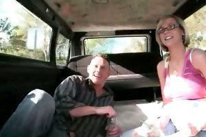 preggy golden-haired stripping exposed in the sex