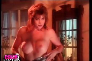 lisa comshaw removing her robe to disclose trio