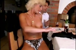 avid old mommy acquires hard drilled and takes