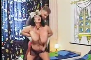 granny with large boobs acquire screwed in -