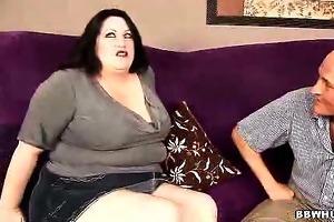 big beautiful woman matalla examines cock