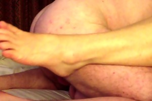 creampie my allies 55 year old wife in a hotel.