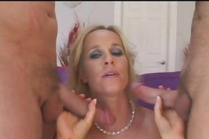 sex star babe devours multiple ramrods