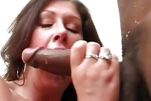 large breasted slut wife copulates dark hunk in