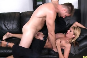 stephany receives pounded hard in missionary
