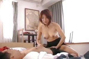 horny japanese older women engulfing