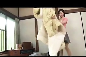 horny oriental step mother