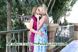 lilah and cadence angelic lesbo hotties giving a