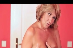 wicked older wench goes eager fingering part1