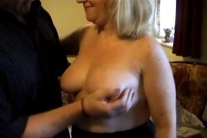 a large blond older brit