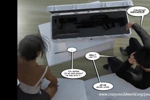 3d comic: vox populi. movie scene 13