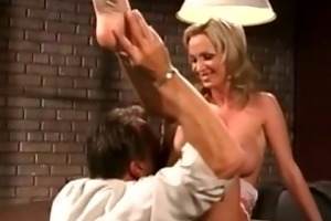 super hawt blond engulfing cock, fucking, and a