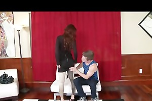 single redhead russian mother i is picked up and