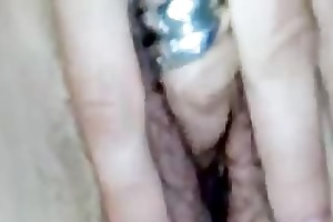 aged lady with shaggy vagina on the livecam