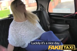 faketaxi hawt blond with marangos to die for