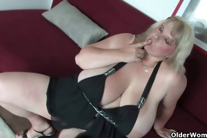 older bbw with giant mammaries