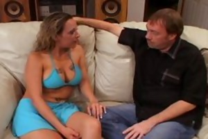 floozy wife donna eating sexy cum loads