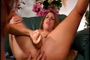 shanna and her hawt girlfriend on daybed cum-hole