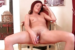 hot redhead mother i babe masturbates for the