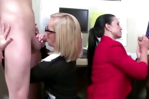 spruce dressed secretaries aid their bosses to