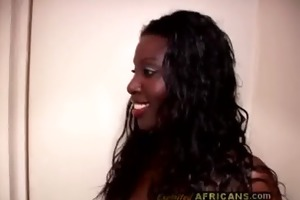 swarthy catches white cheating housewife in a