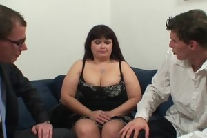 chaps share massive titted mom
