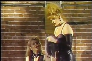 leather fastened dykes from hell 2 - scene 4