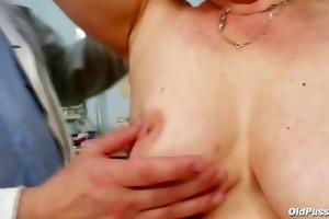 older ruzena gyno fetish clinic doctor visit