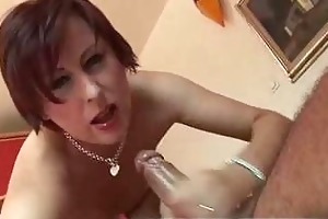 mature in white nylons fucked