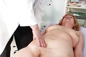 redhead granny dirty fur pie stret...