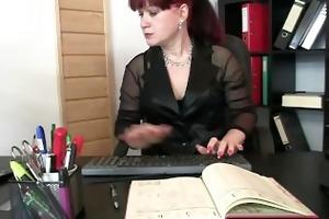 hawt business lady takes cocks