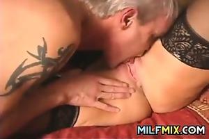 older pair having sex