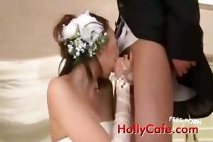 older brides drinking cum a matter of joke