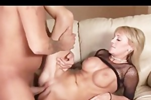 large breasted golden-haired d like to fuck rides