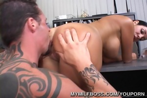 d like to fuck nailed on work desk