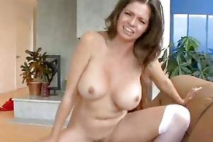 breasty mother i rides a juvenile wang