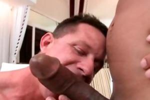 mature muscle lad engulfing darksome weenie part5