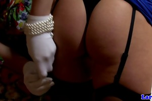 euro matures in nylons lez foreplay