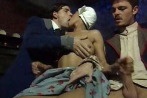 dalila maid drilled by lads