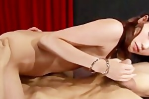 japanese playgirl ibuki getting fired up by her